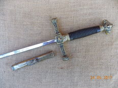 Isabelline Cavalry Officer's Short Sword 1850