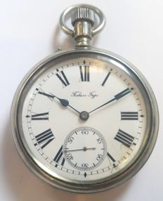 Antique Pocket Watch Paul Buhre - Switzerland ,Made for Imperial Russia, 1908 year