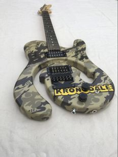 Kronodale Electric Guitar Camouflage patterns