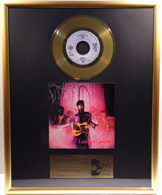 "Prince - Little Red Corvette - 7"" Single Warner Bros. Records golden plated record Special Gold Edition"