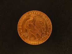 France - 20 Francs 1912 'Marianne' - Gold.