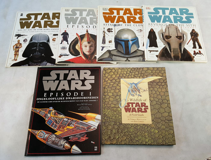 Star Wars Visual Dictionaries Cross Sections And The Catawiki