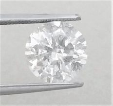 Round Brilliant Cut  - 2.70 carat - E color -  SI2 clarity - Natural Loose Diamond - Comes With IGL Certificate + Laser Inscription On Girdle