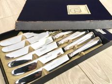 Haags lof knives set - Gero 90 silver plated cutlery - 6 people