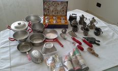 Lot of old items for dolls
