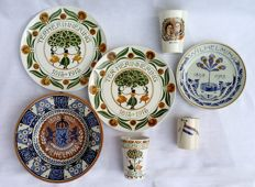 Commemorative plates and cups Royal Family
