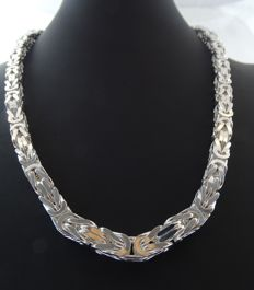 Silver, 925 kt necklace, 59 cm
