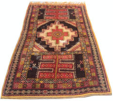 Semi Antique Hand Knotted Moroccan Area Rug 212 cm x 113 cm