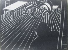 Charles-Louis Philippe: Das Bein der Tiennette with 24 woodcuts by Masereel  (1889 - 1972)