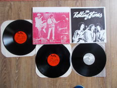 The Rolling Stones Lot Of 2 Lp  : Double Lp Live At Hampton Roads Coliseum , Virginia June 21 , 1978 And Lp  Long Summer 1978 , Lmited Edition