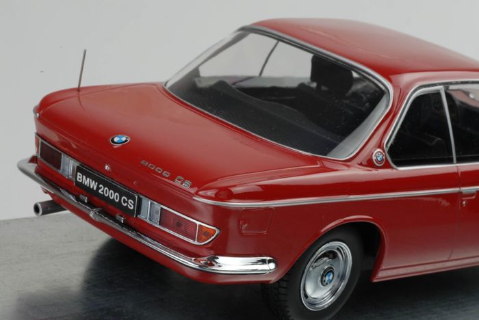 KK-Scale - Scale 1/18 - BMW 2000 CS Coupe 1965 - Red - Catawiki
