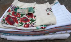 Lot of home linens + 580 cm linen cloth