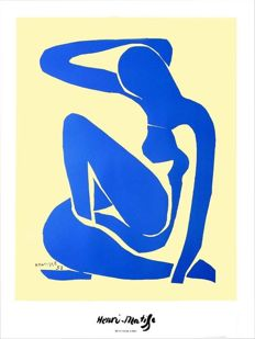Henri Matisse (after) - Blue Nude 1 (1952)