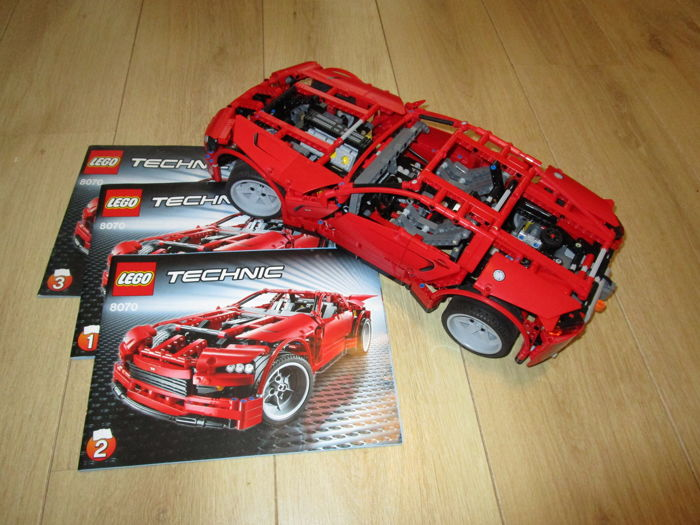 Lego Technic 8070 Super Car With Electronic Power Functions Catawiki