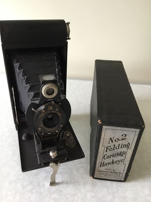 Kodak no2 Folding Cartridge Hawkeye