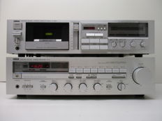 Yamaha R-5 receiver and Yamaha K-540 tape deck