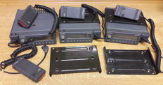 Philips FM1200, 3 pieces Mobile Radio trunked radio system - approx. 1988