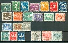 Netherlands 1928/1929 – Selection including Olympiade and Airmail