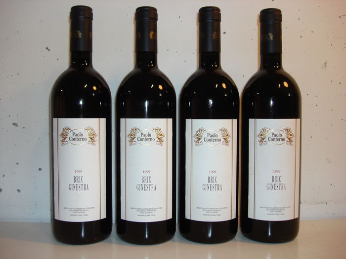 1999 Paolo Conterno Bric Ginestra - 4 bottles