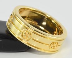 Gucci band ring in 18 kt gold - Size 50.9