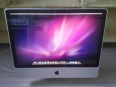 "Apple iMac 24"" - Intel Core2Duo 2.8Ghz CPU, 4GB RAM, 320GB HD, ATI HD 2600 Pro 256MB - model nr A1225"