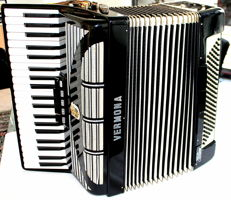VERMONA farfisa ACCORDION mod.135 Italia custom