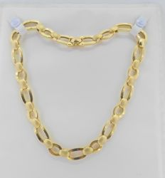 Chain yellow gold with large links