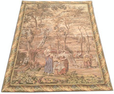 French Pictorial Tapestry 151 cm x 112 cm, second half 20th century
