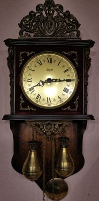 Urgos UW wall clock - period 1950-1970