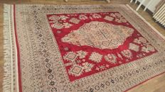 Magnificent Indian carpet, Lahore - 307 x 216 cm - Hand-knotted - Very good condition.
