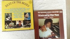 A very nice lot of the good old Blues. 1 rare 3album boxset and 1 album by Winnifred Atwell.