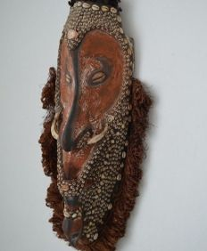 Mei Iatmul mask - East to Central Sepik -  Papua New Guinea Pacific early XX century