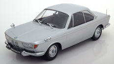KK-Scale - Scale 1/18 - BMW 2000 CS Coupe 1965 - Silver