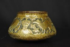 Copper bowl Mamluk Revival - Egypt - first quarter 20th century