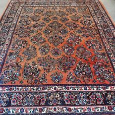 Gorgeous Persian Sarouk rug - 256 x 220 - amazing appearance - unique opportunity