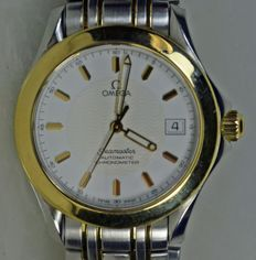 Omega Seamaster Automatic Chronometer Two Tone dial - Stainless Steel/18K Gold - Rare edition