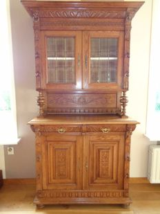 Oak Mechelen cabinet - Belgium - 20th century