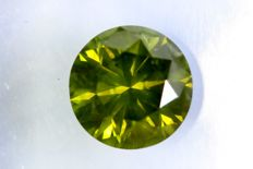Intense green diamond – 1.51 ct – SI2