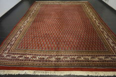 Magnificent hand-knotted oriental palace carpet, Bot Sarough Mir, 300 x 400 cm, made in India, best highland wool