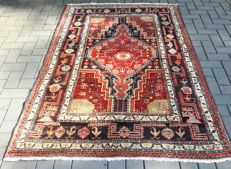Lovely Old Hand-knotted Persian - Hamadan 207cm x 141cm