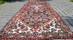 Amazing Old Hand-knotted Persian Hamadan Runner - 310 x 90 (cm)