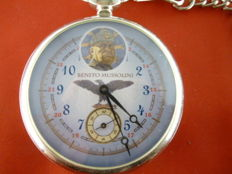 Pocket watch with picture of DUCE