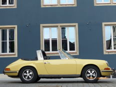 Porsche 911 T Faltscheiben (folding window) Targa - Year of production: 1969