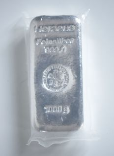Heraeus Silver Bullion Bar