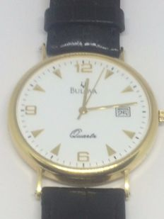 Bulova - Classic - 18 kt gold - Unisex wristwacth from 2000s