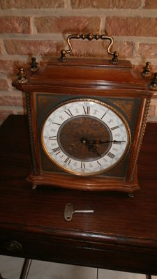 Wooden clock - period: second half of the 20th century