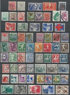 Netherlands 1923/1940 - Selection between NVPH 82 and 356d
