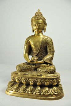 Seated Buddha - China - late 20th century