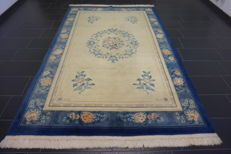 Magnificent China Art Deco Aubusson oriental carpet made in China 200 x 310 cm