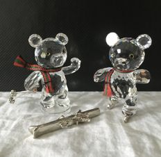 Swarovski - Kris bear ice skating - Kris with skis